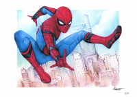 """Thang Nguyen - Spider-Man - """"Spider-Man: Homecoming"""" - Marvel Comics - 8x12 Signed Limited Edition Giclee on Fine Art Paper #/50 at PristineAuction.com"""