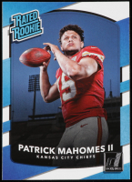 Patrick Mahomes II 2017 Donruss #327 RR RC at PristineAuction.com