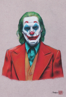 Thang Nguyen - The Joker - Joaquin Phoenix - 8x12 Signed Limited Edition Giclee on Fine Art Paper #/50 at PristineAuction.com
