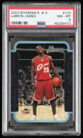 LeBron James 2003-04 Bowman #123 RC (PSA 8) at PristineAuction.com