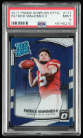 Patrick Mahomes II 2017 Donruss Optic #177 RR RC (PSA 9) at PristineAuction.com