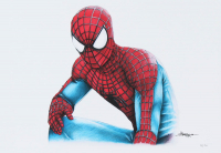 Thang Nguyen - Spider-Man - Marvel Comics - 8x12 Signed Limited Edition Giclee on Fine Art Paper #/50 at PristineAuction.com