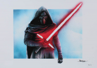 """Thang Nguyen - Kylo Ren - """"Star Wars"""" - 8x12 Signed Limited Edition Giclee on Fine Art Paper #/50 at PristineAuction.com"""