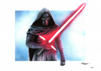 "Thang Nguyen - Kylo Ren - ""Star Wars"" - 8x12 Signed Limited Edition Giclee on Fine Art Paper #/50 at PristineAuction.com"