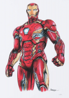 Thang Nguyen - Iron Man - 8x12 Signed Limited Edition Giclee on Fine Art Paper #/50 at PristineAuction.com