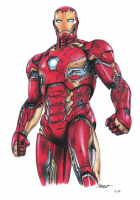 Thang Nguyen - Iron Man - Marvel Comics - 8x12 Signed Limited Edition Giclee on Fine Art Paper #/50 at PristineAuction.com