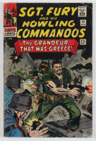 "Vintage 1966 ""SGT. Fury: The Grandeur That Was Greece!"" Vol. 1 Issue #33 Marvel Comic Book at PristineAuction.com"
