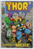 """Vintage 1969 """"Thor: The Wrath of the Wrecker!"""" Issue #171 Marvel Comic Book at PristineAuction.com"""