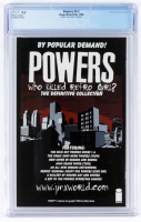 """2001 LE """"Powers"""" Issue #1/2 Dynamic Forces Exclusive Blue Foil Edition Wizard Comic Book (CGC 9.2) at PristineAuction.com"""