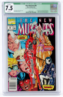 "1991 ""The New Mutants"" Issue #98 Marvel Comic Book (CGC 7.5) at PristineAuction.com"