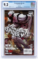 "2008 ""The Amazing Spider-Man"" Issue #569 2nd Printing Variant Marvel Comic Book (CGC 9.2) at PristineAuction.com"