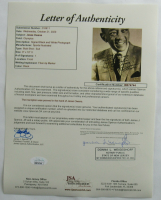 Jesse Owens Signed 8x10 Photo with Extensive Inscription (JSA LOA) at PristineAuction.com