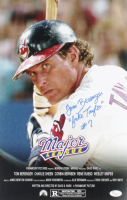 "Tom Berenger Signed ""Major League"" 11x17 Photo Inscribed ""Jake Taylor"" (JSA COA) at PristineAuction.com"