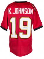 Keyshawn Johnson Signed Jersey (JSA COA) at PristineAuction.com