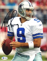 Tony Romo Signed Cowboys 8x10 Photo (Beckett COA) at PristineAuction.com