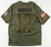 Aaron Rodgers Signed Packers Jersey (Beckett Hologram) at PristineAuction.com