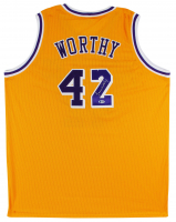 James Worthy Signed Jersey (Beckett COA) at PristineAuction.com
