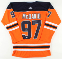 Connor McDavid Signed Oilers Captains Jersey (PSA COA) at PristineAuction.com