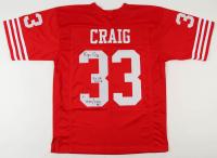 "Roger Craig Signed Jersey Inscribed ""1,000/1,000 85"" & ""3x SB Champ"" (PSA COA) at PristineAuction.com"