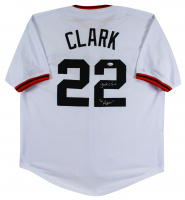 "Jack Clark Signed Jersey Inscribed ""The Ripper"" (Beckett COA) at PristineAuction.com"