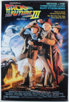 """""""Back to the Future Part III"""" 27x40 Movie Poster at PristineAuction.com"""