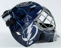 Andrei Vasilevskiy Signed Lightning Goalie Mask (PSA COA) at PristineAuction.com
