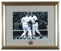 Reggie Jackson Signed Yankees 13x16 Custom Framed Photo Display with World Series Pin (Beckett COA) at PristineAuction.com