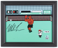 Mike Tyson Signed 13x16 Custom Framed Print Display (Beckett COA & Fiterman Hologram) at PristineAuction.com