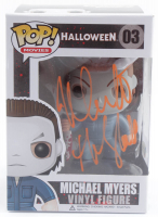 "Nick Castle Signed ""Halloween"" #03 Funko Pop! Vinyl Figure Inscribed ""The Shape"" (Beckett Hologram) at PristineAuction.com"
