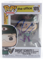 "Rainn Wilson Signed ""The Office"" #1015 Dwight Schrute as Recyclops Funko Pop! Vinyl Figure (JSA Hologram) at PristineAuction.com"