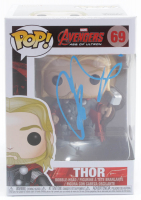 "Chris Hemsworth Signed ""Avengers: Age Of Ultron"" #69 Funko Pop! Vinyl Figure (PSA Hologram) at PristineAuction.com"
