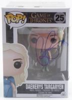"Emilia Clarke Signed ""Game Of Thrones"" #25 Funko Pop! Vinyl Figure (AutographCOA LOA) at PristineAuction.com"
