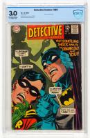 "1968 ""Detective Comics"" Issue #380 Vol 1 DC Comic Book (CBCS 3) at PristineAuction.com"