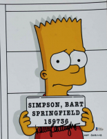 "Nancy Cartwright Signed ""The Simpsons"" 11x14 Photo (Beckett COA) at PristineAuction.com"