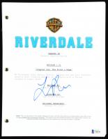 "Lili Reinhart Signed ""Riverdale"" Show Script (Beckett COA) at PristineAuction.com"