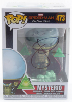 "Jake Gyllenhaal Signed ""Spiderman: Far From Home"" #473 Funko Pop! Vinyl Figure (AutographCOA LOA) at PristineAuction.com"