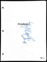"T. J. Miller Signed ""Deadpool"" Movie Script Inscribed ""Weasel"" (Beckett COA) at PristineAuction.com"