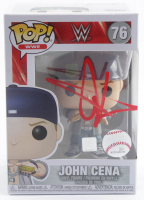 "John Cena Signed ""WWE"" #76 Funko Pop Vinyl Figure (Beckett Hologram) at PristineAuction.com"