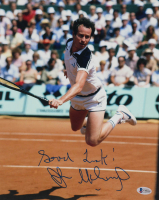 "John McEnroe Signed 11x14 Photo Inscribed ""Good Luck!"" (Beckett COA) at PristineAuction.com"
