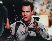 """Dan Aykroyd Signed """"Ghostbusters"""" 11x14 Photo (Beckett COA) at PristineAuction.com"""