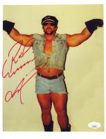 Road Warrior Animal Signed WWE 8.5x11 Photo (JSA COA) at PristineAuction.com