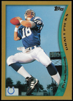 Peyton Manning 1998 Topps #360 RC at PristineAuction.com