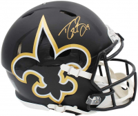 Drew Brees Signed Saints Full-Size Authentic On-Field AMP Alternative Speed Helmet (Radtke COA) at PristineAuction.com