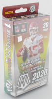 2020 Panini Mosaic Football Retail Exclusive Hanger Box with (20) Cards at PristineAuction.com