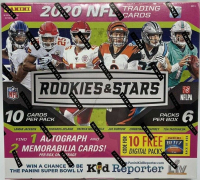 2020 Panini Rookies and Stars MEGA Box with (6) Packs Per Box at PristineAuction.com