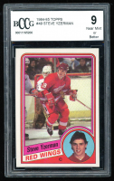Steve Yzerman 1984-85 Topps #49 RC (BCCG 9) at PristineAuction.com