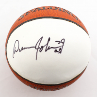 Dennis Johnson Signed Mini NBA Basketball (PSA COA) at PristineAuction.com