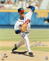 Tom Glavine Signed Braves 16x20 Photo (Beckett COA & MAB Hologram) at PristineAuction.com