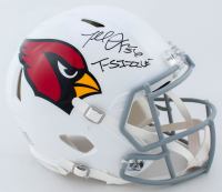 "Terrell Suggs Signed Cardinals Full-Size Authentic On-Field Speed Helmet Inscribed ""T-Sizzle"" (Radtke COA) at PristineAuction.com"