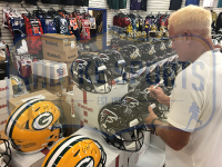 Brett Favre Signed Falcons Full-Size Authentic On-Field SpeedFlex Helmet (Radtke COA) at PristineAuction.com